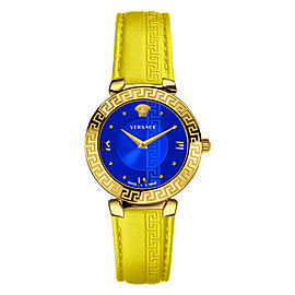 Versace Daphnis Blue 35MM V16090017 watch