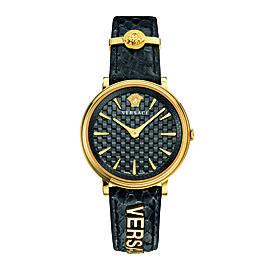 Versace Black 38 mm VE8101019