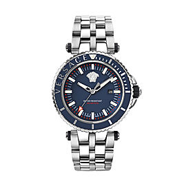 Versace V-Race Diver Blue 46MM VEAK00418