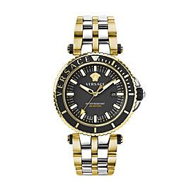 Versace V-Race Diver Black 46MM VEAK00518