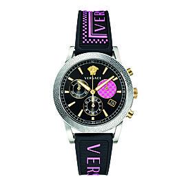 Versace Black 40 mm VELT00619