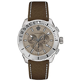 Versace Casual Chrono Taupe 48MM VERG00118