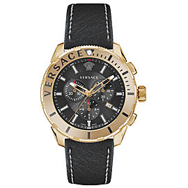 Versace Casual Chrono Black 48MM VERG00318