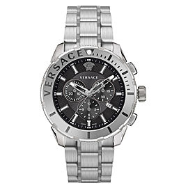 Versace Casual Chrono Black 48MM VERG00518