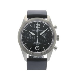 Bell & Ross Heritage BR126-HERITAGE Carbon Finish Mens 41mm Watch