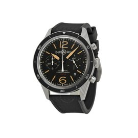 Bell & Ross Blackbird BR126BLACKBIRD Carbon Case Mens 43mm Watch