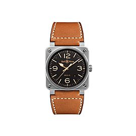 Bell & Ross Golden BR03-92-GOLDEN Stainless Steel Mens 42mm Watch