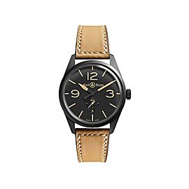 Bell & Ross Heritage BR123-HERITAGE Carbon Case Mens 41mm Watch