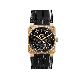 Bell & Ross Aviation BR03-90-SS/RG Rose Gold Mens 42mm Watch