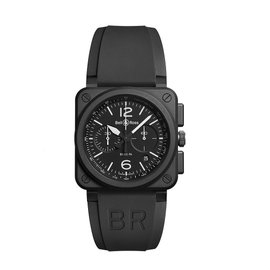 Bell & Ross Rafale BRO3-94-RAFALE Black PVD Mens 42mm Watch