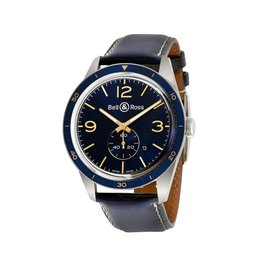 Bell & Ross Aero Navy BR 123-AERONAV Carbon Finish Mens 43mm Watch
