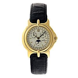 Bertolucci BRT 1 18K Yellow Gold Automatic Mens Watch