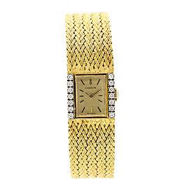 Corum 218238 President 18K Yellow Gold & Diamond Unisex Watch
