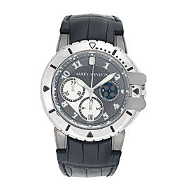 Harry Winston Platinum & Zalium Project Z2 Ocean Limited Edition Mens Watch