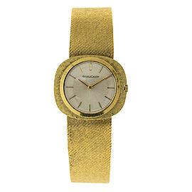Jaeger-LeCoultre JLC1 18K Yellow Gold Vintage Mens Watch