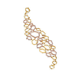 Mimi So Jackson Diamond Cluster Link Bracelet
