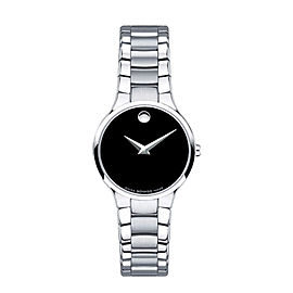 Movado Serio 0606383 Stainless Steel Watch