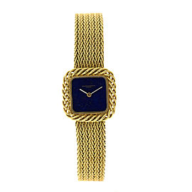 Vacheron Constantin 18K Yellow Gold Lapis Dial Womens Watch