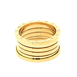 Bulgari Men's Yellow Gold 5 Band Ring Size 55