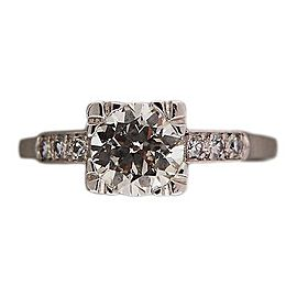 Platinum 1.07ct Diamond Ring Size 8.75