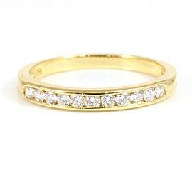 TIFFANY & CO.18K Yellow Gold Diamond Ring CHAT-150