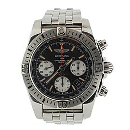 Breitling Chronomat Chronograph Airborne Automatic Watch Stainless Steel and Rubber 42