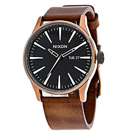 Nixon Men's Sentry Leather