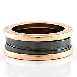 BVLGARI 18K Pink Gold B-zero.1 Ring CHAT-432