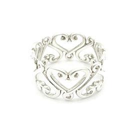 Tiffany & Co. Sterling Silver Paloma Picasso Venezia Ring