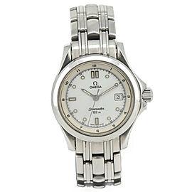 Omega Seamaster 120M 2511.20 White Dial Quartz Women's Watch