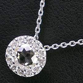 18k white gold/diamond Necklace