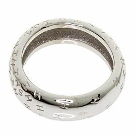 HERMES 18K White Gold Too Bouring Ring