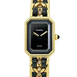 CHANEL Stainless steel/Yellow gold plated Premiere Watch