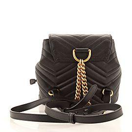 Gucci GG Marmont Drawstring Backpack Matelasse Leather Mini