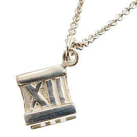 Tiffany & Co. Atlas Cube Necklace
