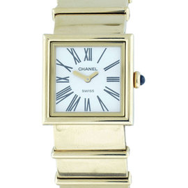 Chanel Classic Tank 18k Yellow Gold Quartz 22.7mm Watch