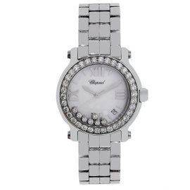 Chopard Happy Sport 8475 Stainless Steel Diamond Quartz 36mm Unisex Watch