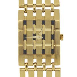 Piaget Polo 8131 18K Yellow Gold Quartz 20mm Womens Watch