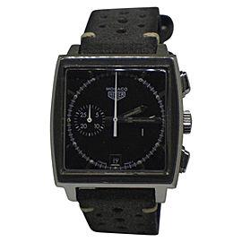 Tag Heuer Monaco Chronograph CS2110 Stainless Steel Automatic 38mm Mens Watch