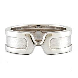 CARTIER 18K white gold 2C Ring