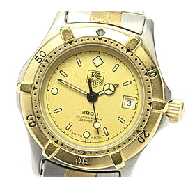 TAG HEUER Stainless Steel/Gold Plated 2000 series Watch RCB-86