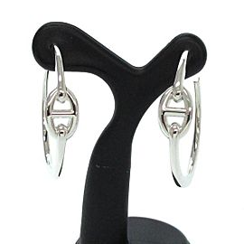 Hermes Chaine Dunkle Earrings