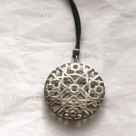 Tiffany & Co. Paloma Picasso Sterling Silver Zellige Dome Pendant Necklace