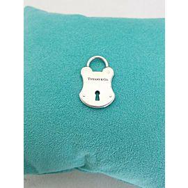 Tiffany & Co. Sterling Silver Lock Pendant