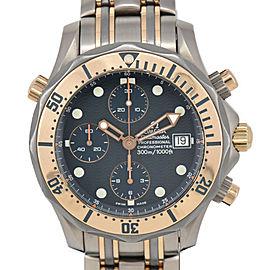 OMEGA Seamaster 300M chronograph 2296.80 Titanium/18KPG Automatic Watch