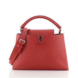 Louis Vuitton Capucines Bag Leather PM