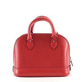 Louis Vuitton Alma Handbag Epi Leather Nano