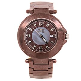 Invicta Brown Stainless Steel Womens Watch