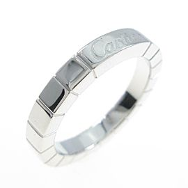 Cartier 18K White Gold Lanieres ring TkM-281