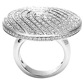 Piaget 18K White Gold Diamonds Ring Size 7